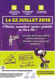 Affiches Tour de france à Brassac le 22-07-2018 N°1