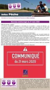 2020-03-21 -Infos pêche Confinement